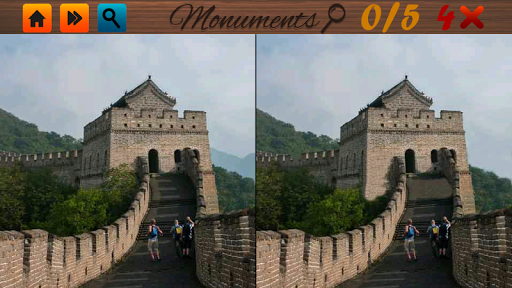 Spot Differences: Monuments