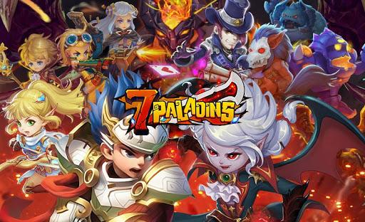 7 Paladins NA: 3D RPG x MOBA 1.1.9 screenshots 1