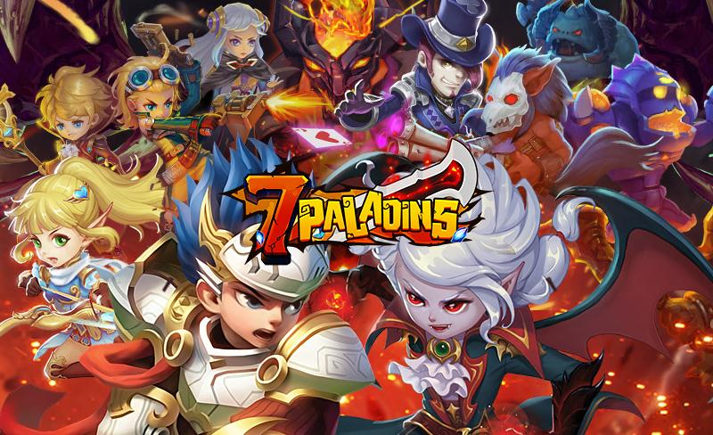 7 Paladins NA: 3D RPG x MOBA- screenshot