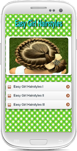 Easy Girl Hairstyles