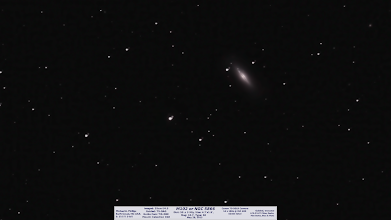 Photo: annnd.. M102! Guiding was a bit tricky but I'm pretty happy with this 42min integration time... NEXT!