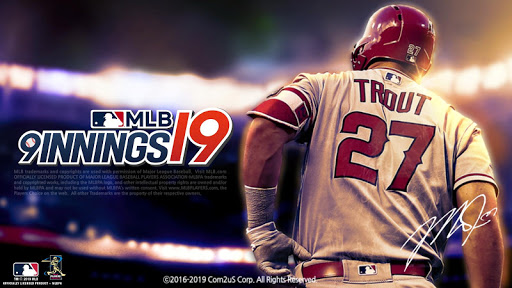 MLB 9 Innings 19  captures d'u00e9cran 1