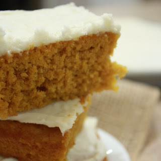 Pumpkin Bars with Cream Cheese Frosting Dessert Recipe