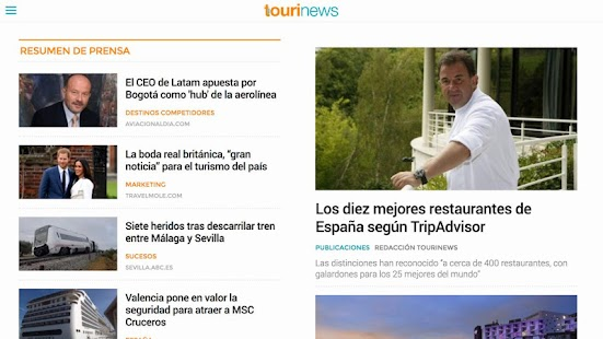 Tourinews- screenshot thumbnail