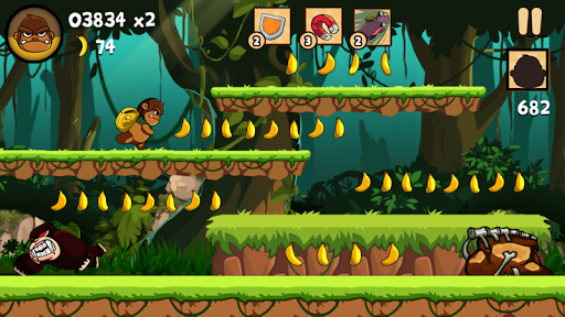 Kong Rush - Banana Run 1.0.4 screenshots 1