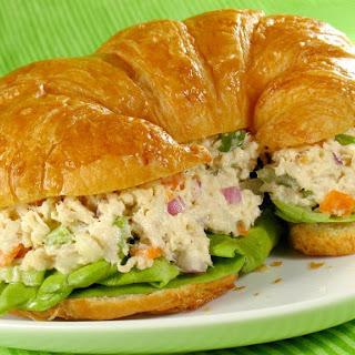 Chicken 'n Orange Salad Sandwich.