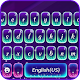 Purple Glow Keyboard Theme Apk