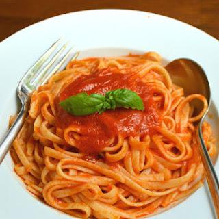 Sweet Pasta Sauce Vegetarian Recipes