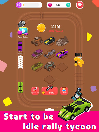 Merge Car Racer - Idle Rally Empire 2.7.0 screenshots 10