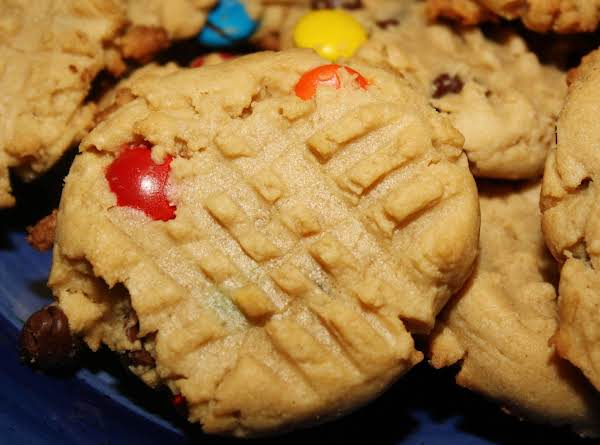 Peanut Butter Cookie Monster Cookies