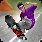 Straße Skateboard Mädchen : Profi Skateboarding icon