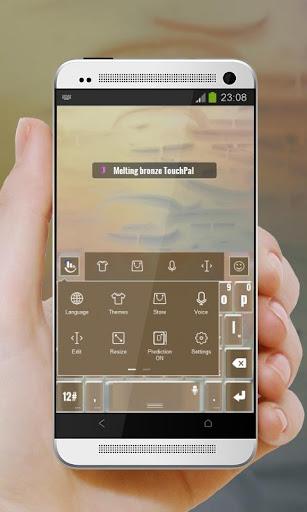 玩個人化App|溶融ブロンズ TouchPal免費|APP試玩