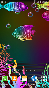 Neon Fish Live Wallpaper 3