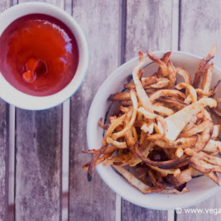 Celeriac Fries (Low Carb) Recipe