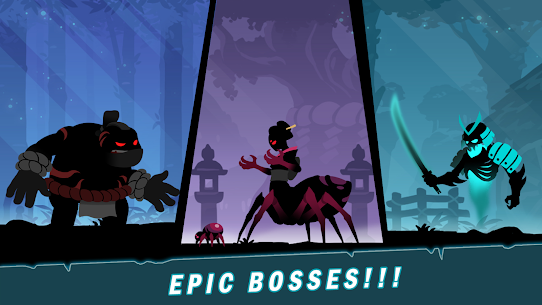 Stickman Revenge 4: Epic War Mod Apk (Unlimited Crystals and Stamina) 4