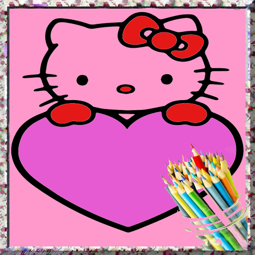 the queen kitty coloringbook for kids