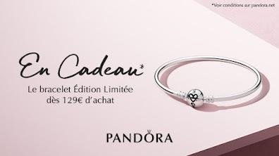 Bracelet édition limitée offert dès 129€ d'achat chez Pandora