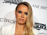 Ziekte houdt Caroline Wozniacki niet tegen om te feesten