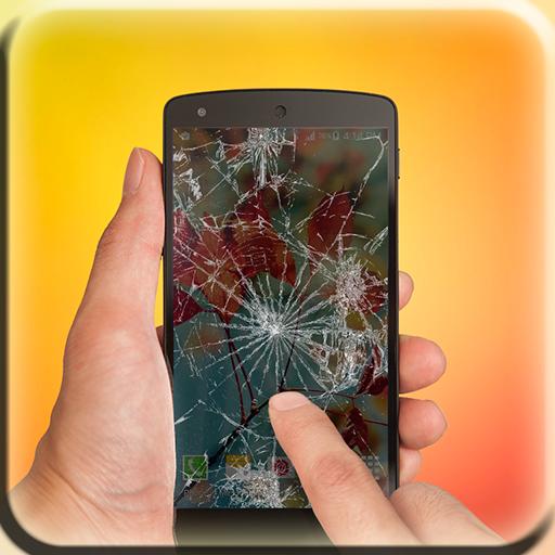 Cracked screen (simulator)