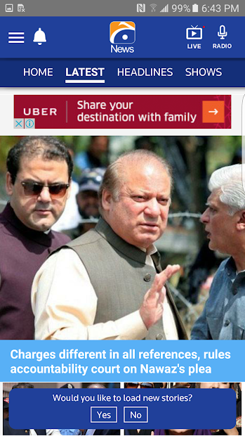 Geo News screenshot 3