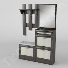 Прихожая-6 мебель разработана и произведена Фабрикой Тиса мебель