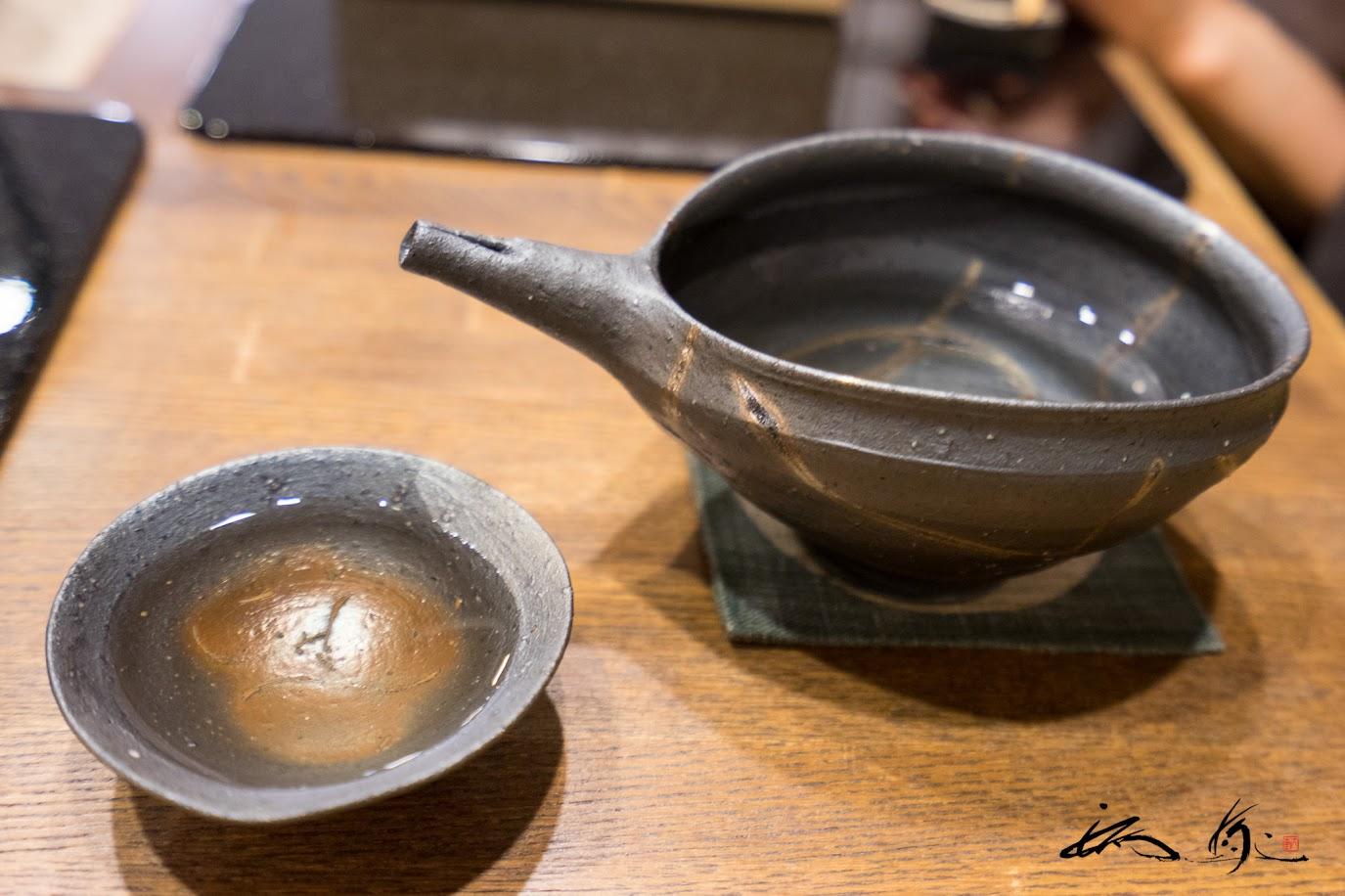 日本酒「獺祭」磨き三割九分 (山口県) 酒器今宵堂の素敵な器にて