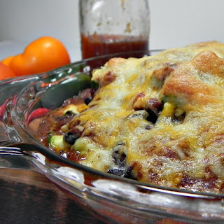 Clean Eating Stacked Enchiladas