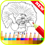 Coloring Pages for Trolls Fans APK icon
