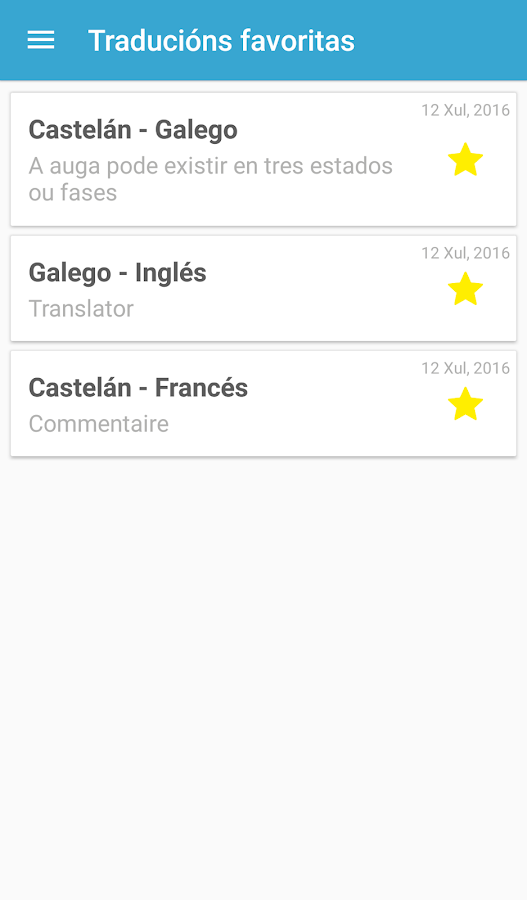 Tradutor Gaio- screenshot