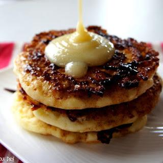 Cinnamon Roll Pancakes.
