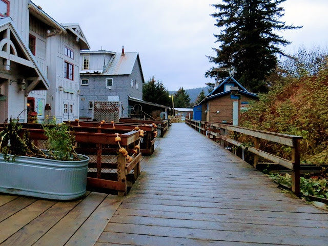 Seldovia boardwalk