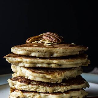 Gluten-Free Oatmeal Nut Pancakes.