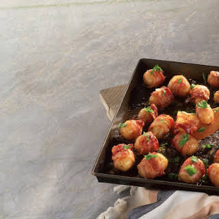 Bacon Wrapped New Potatoes.