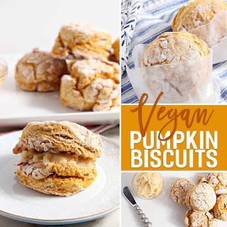Pumpkin Biscuits with Maple Butter