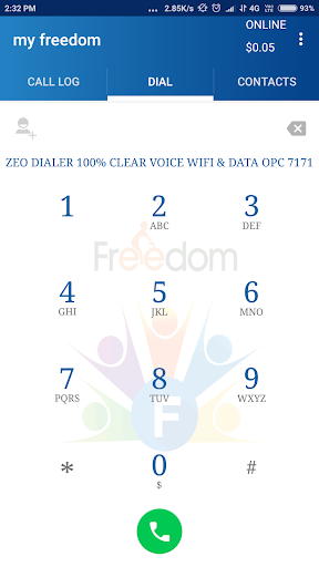 My Freedom Dialer 1.9.0 screenshots 2