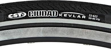 CST Ciudad Wire Bead, w/ Kevlar Protec, Black alternate image 2