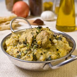 Trinidadian Chicken Potato Curry