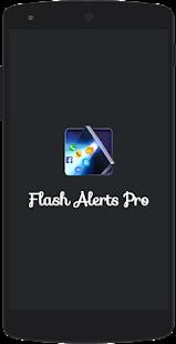 Flash Alerts Pro 2017 - náhled