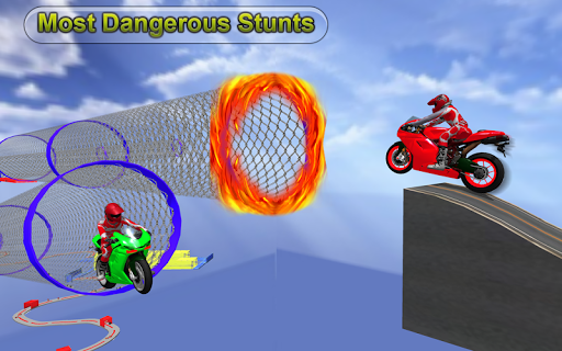 Racing Moto Bike Stunt : Impossible Track Game 1.1 screenshots 12