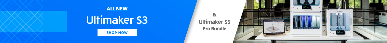 All new Ultimaker S3 & Ultimaker S5 Pro Bundle