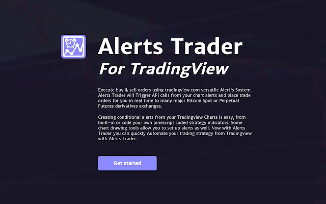 Alerts Trader for TradingView