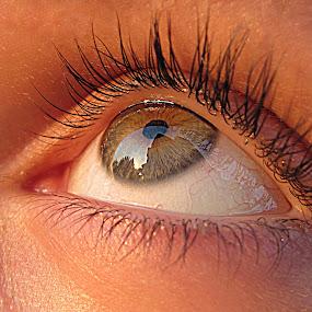Eye by Milan Milosevic ヅ - People Fine Art ( body parts, fine art, reflections, people, eye, eyes )