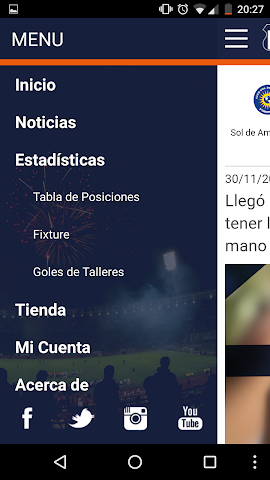 android Club Atlético Talleres Screenshot 2