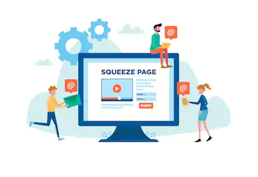 what is squeeze page