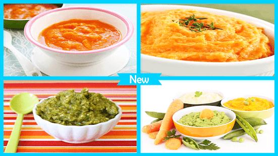 Jednoduché zeleninové pyré - náhled