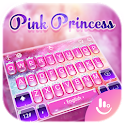 Pink Princess Diamond Galaxy Keyboard Theme icon
