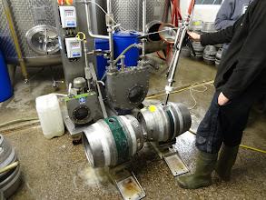 Photo: Casks are filled at Hawkshead in Cumbria.