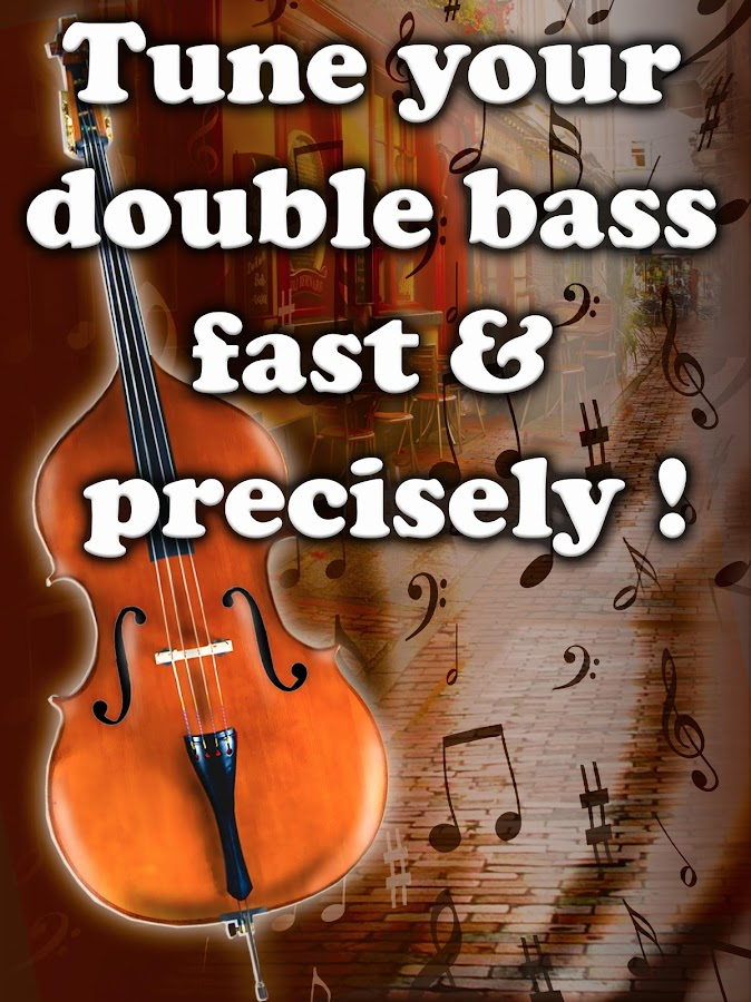 Chromatic Double Bass Tuner- screenshot