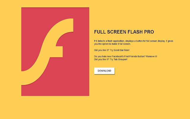 Full Screen Flash
