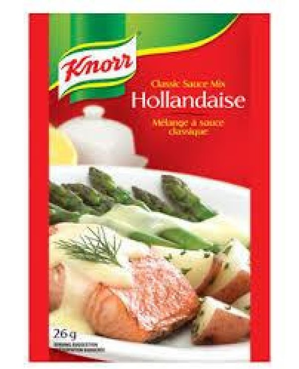 Additional serving suggestions/variations:  *Knorr Hollandaise Sauce Mix prepared as directed with the addition of 1...